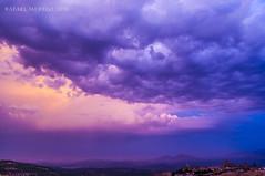 Purple cloud (Guervós) Tags: atardecer tramonto sunset غروب ocaso ocàs eguzkisarrera सूर्यास्त 日落 sonnenuntergang coucherdesoleil pôrdosol nubes núbols wolken clouds nuages hodeia 雲 سحاب nubole nuvens облака 云 morado purple úbeda jaen jaén andalucía españa spain andalusia espagne spanien spagna 西班牙 espanya स्पेन ہسپانیہ espania espanha spanje sacracapilla salvador sierramágina valledelguadalquivir sanmiguel sanpablo torres towers iglesias churches patrimoniodelahumanidad worldheritage