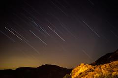 When points become lines (zoitrix) Tags: light naturaleza luz nature rain night 35mm star noche lluvia nikon long exposure estrella cazorla d3200