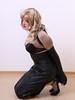 Sabrina in Armbinder (sabrinamueller789) Tags: armbinder hobbleskirt monoglove