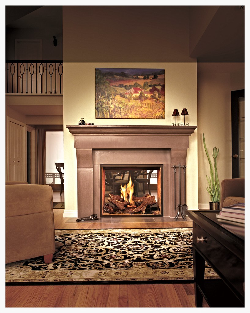 Town & Country TC36ST direct vent fireplace