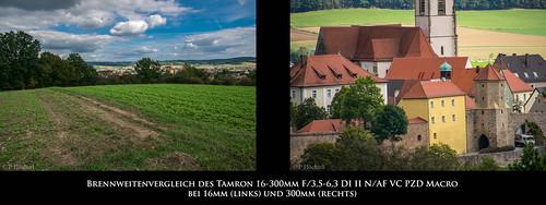 "Brennweitenvergleich Tamron 16-300mm F/3,5-6,3 DI II N/AF VC PZD Macro • <a style=""font-size:0.8em;"" href=""http://www.flickr.com/photos/58574596@N06/21535244170/"" target=""_blank"">View on Flickr</a>"