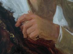 """Figure de fantaisie"" (dtail), Jean-Honor Fragonard, vers 1769. (Lejeune Grgory) Tags: france museum muse jeanhonorfragonard louvrelens"