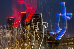 """Leeuwarden """"bewogen"""" (werkplaats058) Tags: skyline blauw nacht schilderen leeuwarden bewogen"""