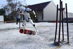 Storm Kick Flip (theandino) Tags: starwars stormtrooper theandino