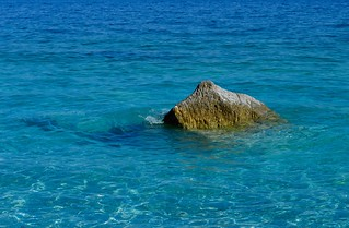 Rock in the Aegean Sea