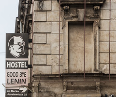 Goodbye Lenin (CdL Creative) Tags: lenin canon geotagged poland krakow kraków pl 70d małopolskie cdlcreative geo:lat=500547 geo:lon=199476