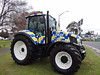 New Zealand's only Police tractor (Home Land & Sea) Tags: new newzealand tractor holland police nz pointshoot sonycybershot 2015 homelandsea dschx100v