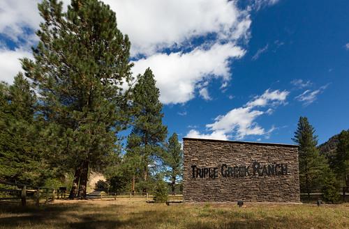 Triple Creek Ranch Entrance