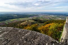 Blick gen Neckartal (-BigM-) Tags: autumn summer castle germany deutschland photography fotografie indian herbst owen baden teck burg kirchheim bigm wrttemberg