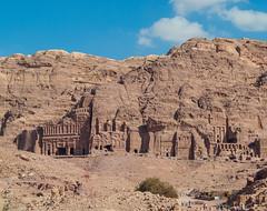 Petra (Igor Sorokin) Tags: street travel blue sky people tourism nikon rocks asia tour petra middleeast tourists jordan 1855 nikkor dslr d40