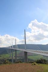 20140910 Aveyron Millau - Le viaduc-004 (anhndee) Tags: france frankreich millau viaduc aveyron midipyrnes viaducdemillau