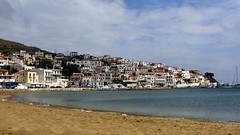 Batsi beach IMG_0690 (mygreecetravelblog) Tags: island town village resort greece greekislands andros cyclades batsi cycladesislands androsgreece androsisland batsiandros batsivillage