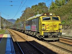 251 (firedmanager) Tags: train tren asturias caf pajares mitsubishi ferrocarril freighttrain renfe trena 251 campomanes mercancías railtransport renfemercancías