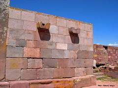 Water Drains in Walls of Temple Kalasasaya - #Tiwanaku ( #Tiahuanaco or #Tiahuanacu)  Pre-Columbian Ruins, Tiwanaku Municipality, Ingavi Province, La Paz Department, #Bolivia (Black Diamond Images) Tags: southamerica temple ruins outdoor ruin bolivia unescoworldheritagesite walls américadosul tiwanaku tiahuanaco amériquedusud tiahuanacu zuidamerika sudamérica kalasasaya waterdrains lapazdepartment precolumbianruins tiwanakumunicipality ingaviprovince templekalasasaya