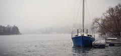 elbe frame (tamson66) Tags: elbe river frame misty boat