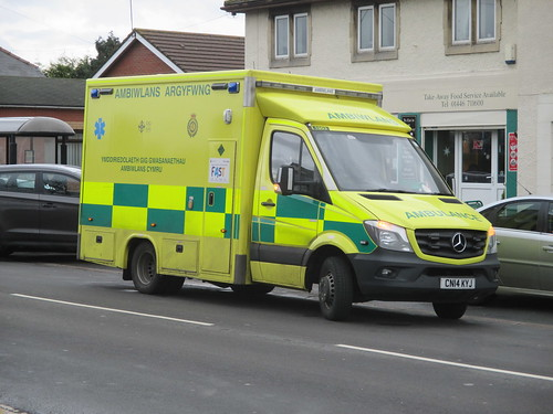 Ambulance on call.