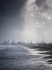 Esperanza de un día mejor. (monsalo) Tags: tormenta playa monsalo luz agua