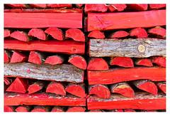 Norwegian wood (red) (leo.roos) Tags: red rood wood hout eidfjord 762012 nex5n nex sonyczsonnar2418 norway noorwegen 2012 spring lente darosa leoroos norwayspring2012