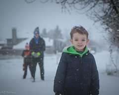Winter 2017 (kellimatthews) Tags: winter play brothers kids snow outdoors oregon pnw