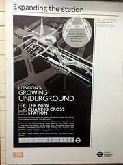 1977 poster introducing the Jubilee line at Charing Cross station (David Jones) Tags: hiddenlondon londontransportmuseum charingcross londonunderground station jubileeline