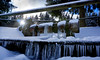 Sunrays And Icicles (clé manuel) Tags: winter snow sun icicle sunrays ice sonyalpha frozen schnee eiszapfen sonnenstrahlen sonne