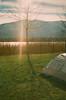 09540012 (tarteltarantel) Tags: nature tree mountain green blue lake tent camp sky cloud analoguephotography analogue analog fotoğraf türkiye kocaeli izmit dağ doğa