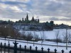 Parliament Hill at dusk. (suzan_mandla) Tags: sunset dusk architecture iphone parliamenthill urban landscape canada ottawa