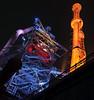 Another perspective of blast furnace 5 (claudia@flickr) Tags: duisburg hochofen5 industrieparknord landschaftsparknord nacht blastfurnace5 illumination night