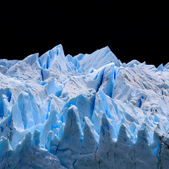 Midday Ice Square (robertdownie) Tags: lake mountains winter water blue sun clouds abstract black mountain ice grey glacier cliff argentina midday fracture patagonia perito moreno argentinian
