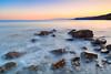 Peaceful morning (czdistagon.com) Tags: beach sea mist wave smoky stone dusk scenic exposure water coast unset crimea landscape russia czdistagoncom distagon matveevaleksandr czdistagon aleksandrmatveev