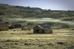 Morning Mist Over Bodie (Greatest Paka Photography) Tags: oldwest bodie california ghosttown bodiehills sierranevada building goldmining boomtown lawless miningcamp nationalhistoriclandmark mist desolate abandoned gold goldrush mining park
