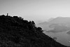 Look (Gomen S) Tags: hike people mountain ocean d5200 1685mm nikon hk hongkong china asia tropical 2017 afternoon wildlife bw blackandwhite rural cpl