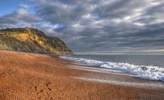 The Dorset coast at Seatown (Baz Richardson (catching up again!)) Tags: dorset seatown coast cliffs beaches