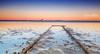 Rusty Rails (Beth Wode Photography) Tags: sunset twilight rails rust rustyrails lowtide redlands reflections sand mud seascape beth wode bethwode