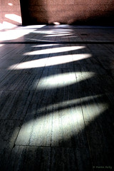 Circles amongst the straight lines of Broadgate, London (MJ Reilly) Tags: london cityoflondon bishopsgate broadgate canon s100 powershot uk england circle shadow line modern winter cityscape urban