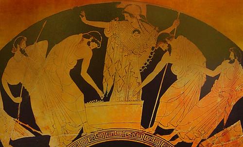 "Petteia - Ludus Latrunculorum  / Iconografía de las civilizaciones helenolatinas • <a style=""font-size:0.8em;"" href=""http://www.flickr.com/photos/30735181@N00/32522209075/"" target=""_blank"">View on Flickr</a>"