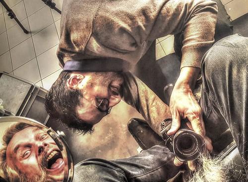 Shooting chez le Barbier