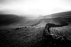 Malham Cove Walk in North Yorkshire (lsullivanart) Tags: fuji fujifilm fujix fujix70 england europe uk britain landscape sunrise sunset sky scenery winter yorkshire monochrome bw blackandwhite