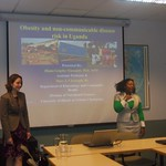 Brown Bag, spring 2013 (Professor Grigsby-Toussaint and Dr. Mary Christoph)