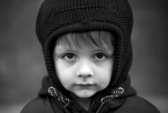 Dear Oscar (marinasantos6) Tags: blue amor love kid eyes ojos blancoynegro blackandwhiteportrait blackandwhite outdoor marinasantos oscar headshot portrait light 85mm niños children boy kids bokeh canon5d canon