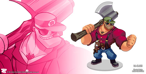 Character Design - illustration n° 44