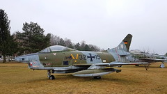Fiat G.91R/3 c/n D483 German Air Force serial 32+15 (sirgunho) Tags: germany cottbus flugplatzmuseum museum aviation aircraft ddr nva soviet union helicopters jets duitsland deutschland east ost oost g91 gina 3215 fiat g91r3 cn d483 german air force serial