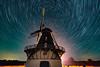 Revinge Kvarn (claustral) Tags: longexposure mill windmill night stars skåne sweden trails startrails 2015 interestingness79 i500 revingehed revingekvarn explore20150824