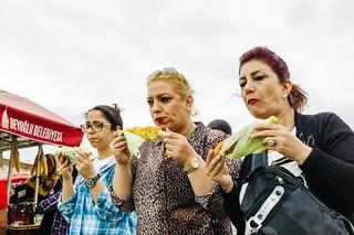 Corn on the Cob in Istanbul, Turkey