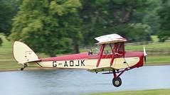 De Havilland DH82 Tiger Moth G-AOJK (Fleet flyer) Tags: de tiger moth bedfordshire trainer biplane deerpark woburn dehavilland woburnabbey dh82 dehavillanddh82 havilland trainingaircraft gaojk dehavillanddh82tigermoth dehavillanddh82tigermothgaojk dehavillandmothrally2015