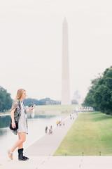 standing tall (vujade762) Tags: girl washington leg streetphotography cast brace