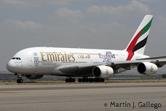 A6-EOA England 2015 Rugby World Cup (Martin J. Gallego. Siempre enredando) Tags: madrid plane airplane emirates airbus a380 mad avion barajas planespotting airbusa380 airbus380 lemd a6eoa