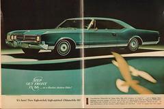 1966 Oldsmobile Delta 88 Advertisement Newsweek November 1 1965 (SenseiAlan) Tags: november 1 delta 1966 advertisement 88 newsweek oldsmobile 1965