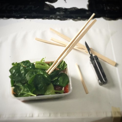 No fork for lunch? Knock up a set of chopsticks!