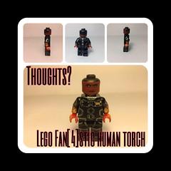 Lego Fan[4]stic: Human Torch (ACE_CUSTOMS!) Tags: lego custom fantastic4 humantorch